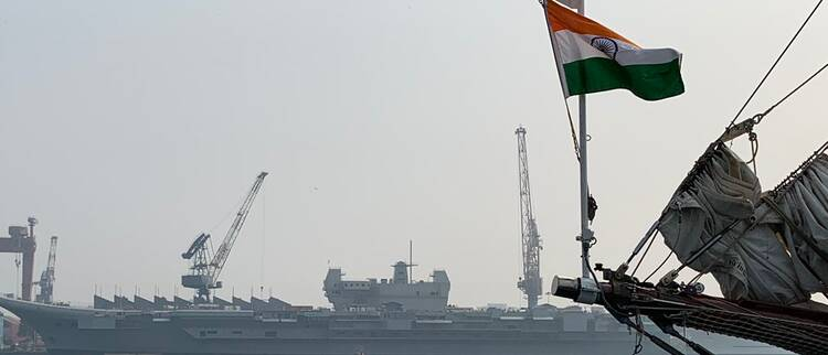 一年过去印度国产航母没啥变化 2020海试恐难实现