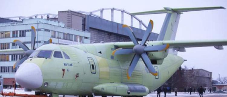 俄最新轻型运输机亮相 网友:俄版E2C