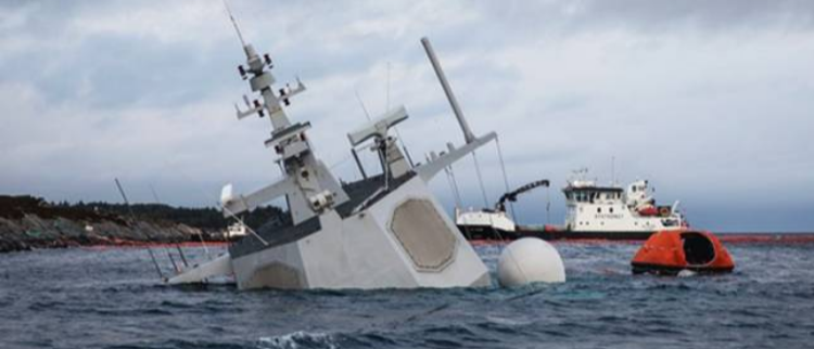 宙斯盾舰挣扎6天后沉没 原因竟是……