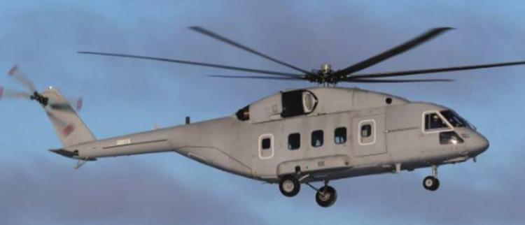 俄最新直升机首飞 曾想出口中国